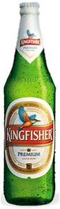 Foto Kingfisher Bier (660ml)