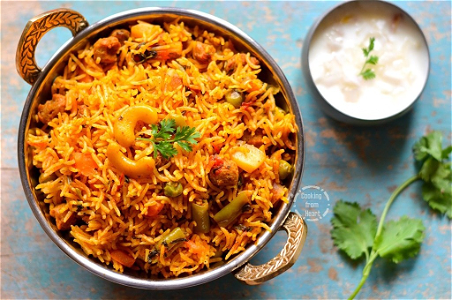Foto Vegetable Biryani (medium)