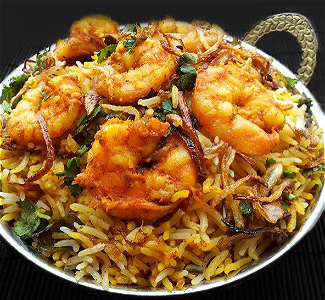 Foto Prawns Biryani (medium)